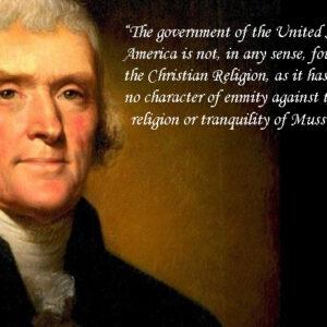 Bapak Bangsa Amerika Kagumi Islam