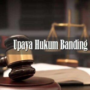 Upaya Hukum Banding